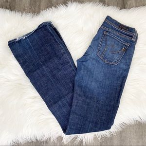 Citizens of Humanity Ingrid Low Waist Flair Jeans